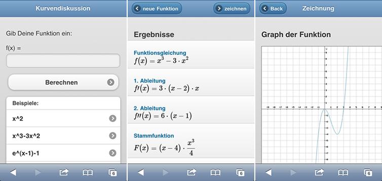 Wähle aus einer der beiden Optionen. Graph der Funktion zeichnen. Komplette Kurvendiskussion Online-Rechner.